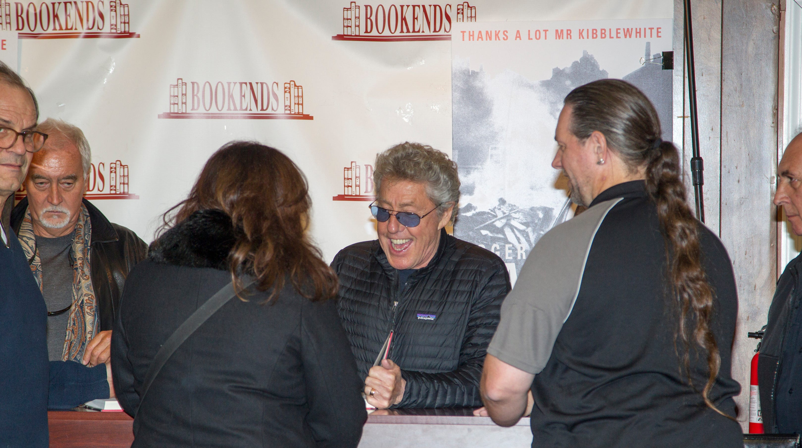 Roger Daltrey, lead singer of The Who, stopped...