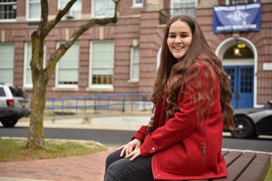 Belgin Koc, a junior at Montclair High School