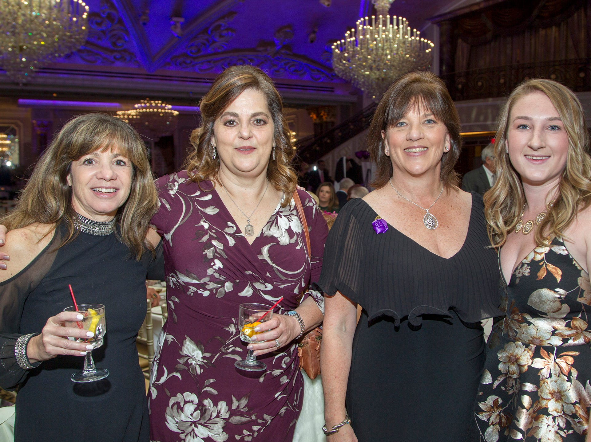 "Laurie Plunkett, Laurie Sofield, Heather and Kimberly Doyle. The Jillian Fund held its ""Taste of Italy"" at The Venetian in Garfield. The evening featured casino games, wine tasting, and a silent auction. 10/24/2018"