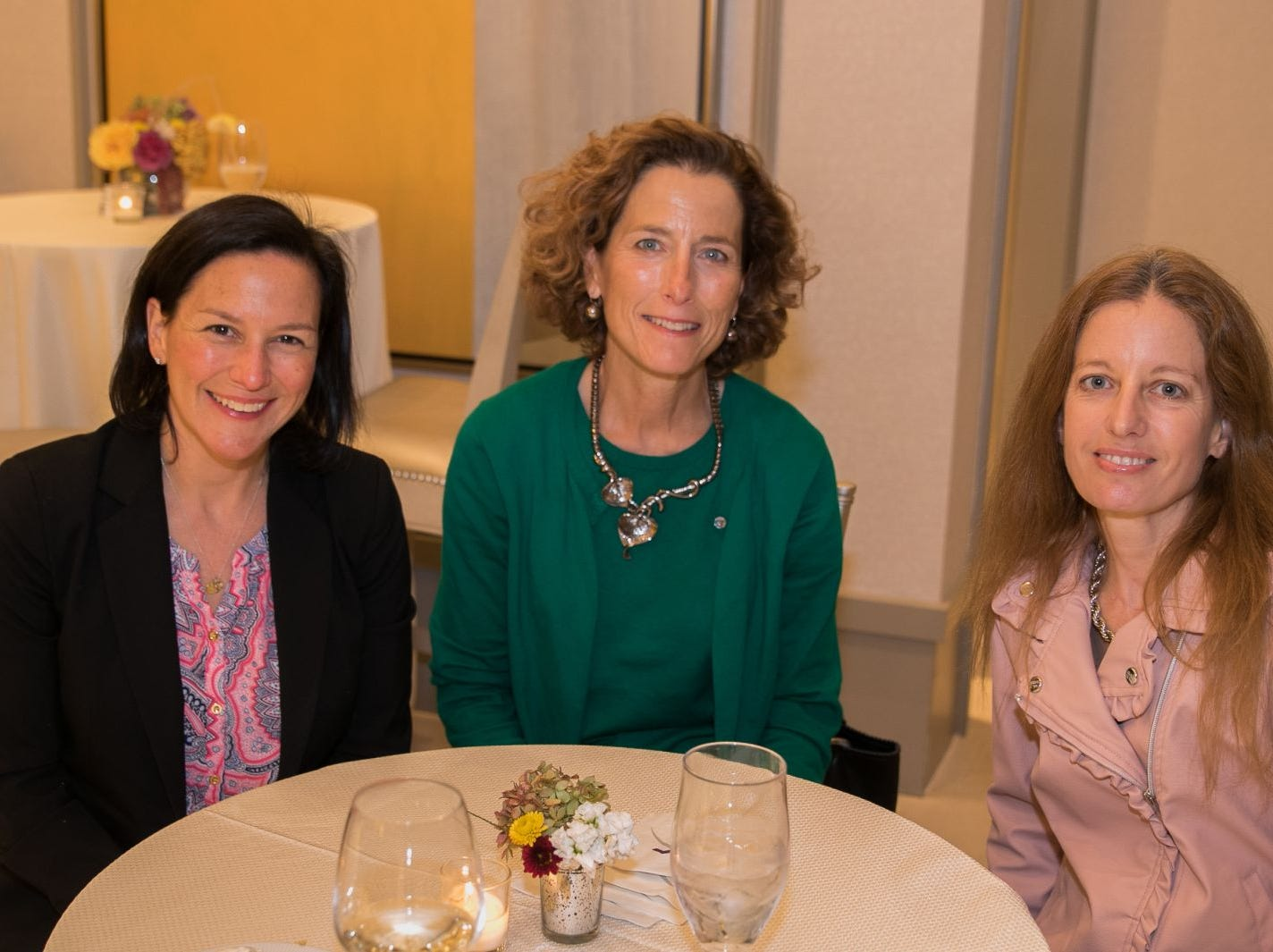 Tori Davies Weil, Allison Cobb, Kathleen Reichard. North Jersey Events held its Women for Women and Storytellers event at Edgewood Country Club in Rivervale. The evening featured a light reception followed by a panel discussion with members from Holy Name Medical Center. The panel was moderated by Megan Finnerty, Director of Storytellers Project, USA TODAY NETWORK. Holy Name Medical Center sponsored the event. 10/23/2018
