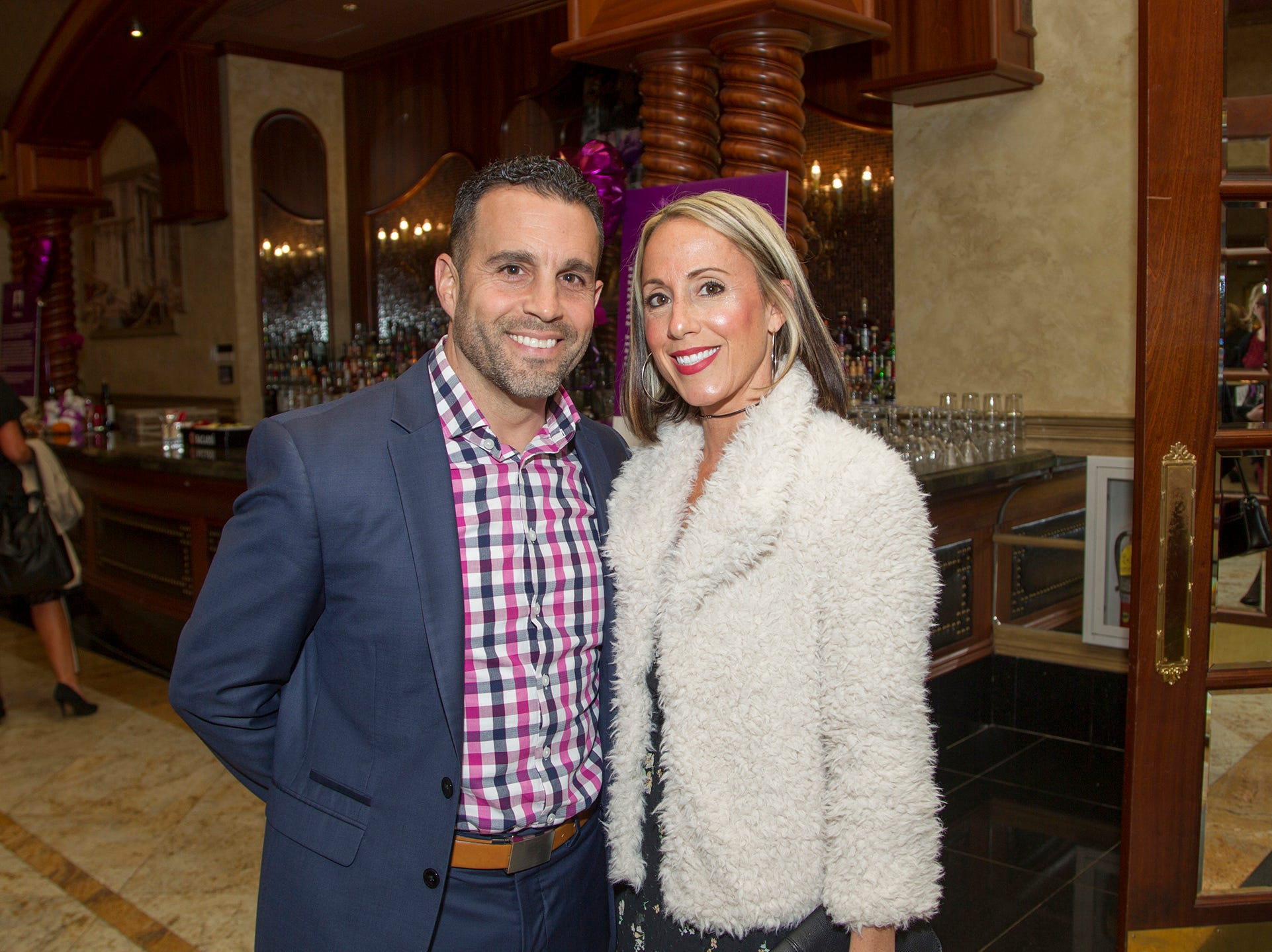 "Ron and Laurie Alosa. The Jillian Fund held its ""Taste of Italy"" at The Venetian in Garfield. The evening featured casino games, wine tasting, and a silent auction. 10/24/2018"