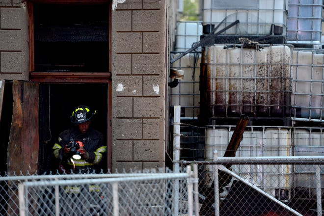 Paterson Fire Department responded to a fire at a factory on Paterson St in Paterson on Friday morning October 26, 2018.