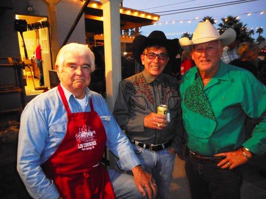 Hugh Kaptur, Palm Springs Mayor Robert Moon and Bill Beck.