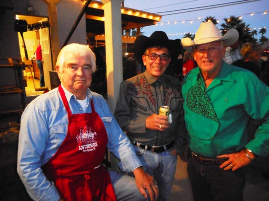 Hugh Kaptur, Palm Springs Mayor Robert Moon and Bill Beck.