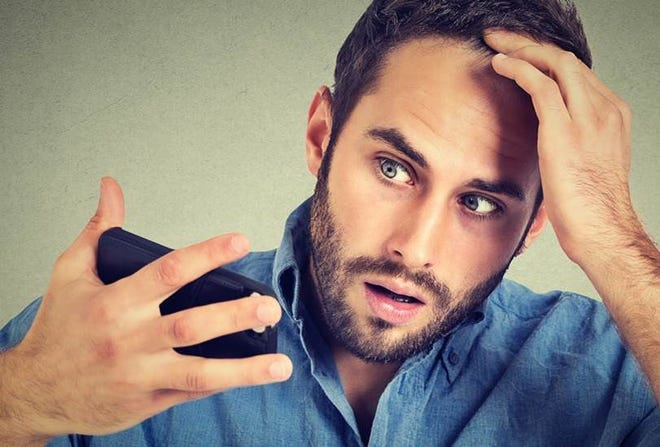 The average adult head has about 100,000 to 150,000 hairs and loses up to 100 of them a day.