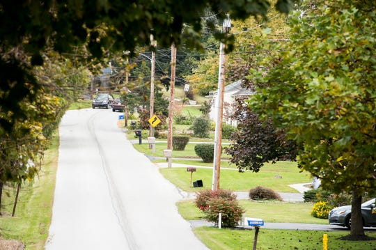 Residents along Hershey Heights Road in Penn Township currently use a septic system for their sewer but will need to connect to public sewer at a cost of at least $15,000 for some homeowners.