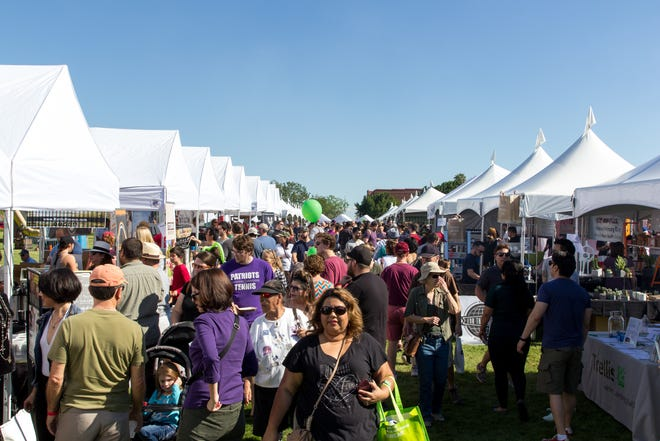 The Arizona Fall Fest highlights local Arizona businesses, musicians, restaurants and sports teams.
