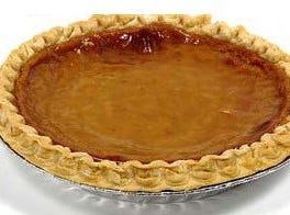 Pumpkin pie from Rock Springs Cafe.