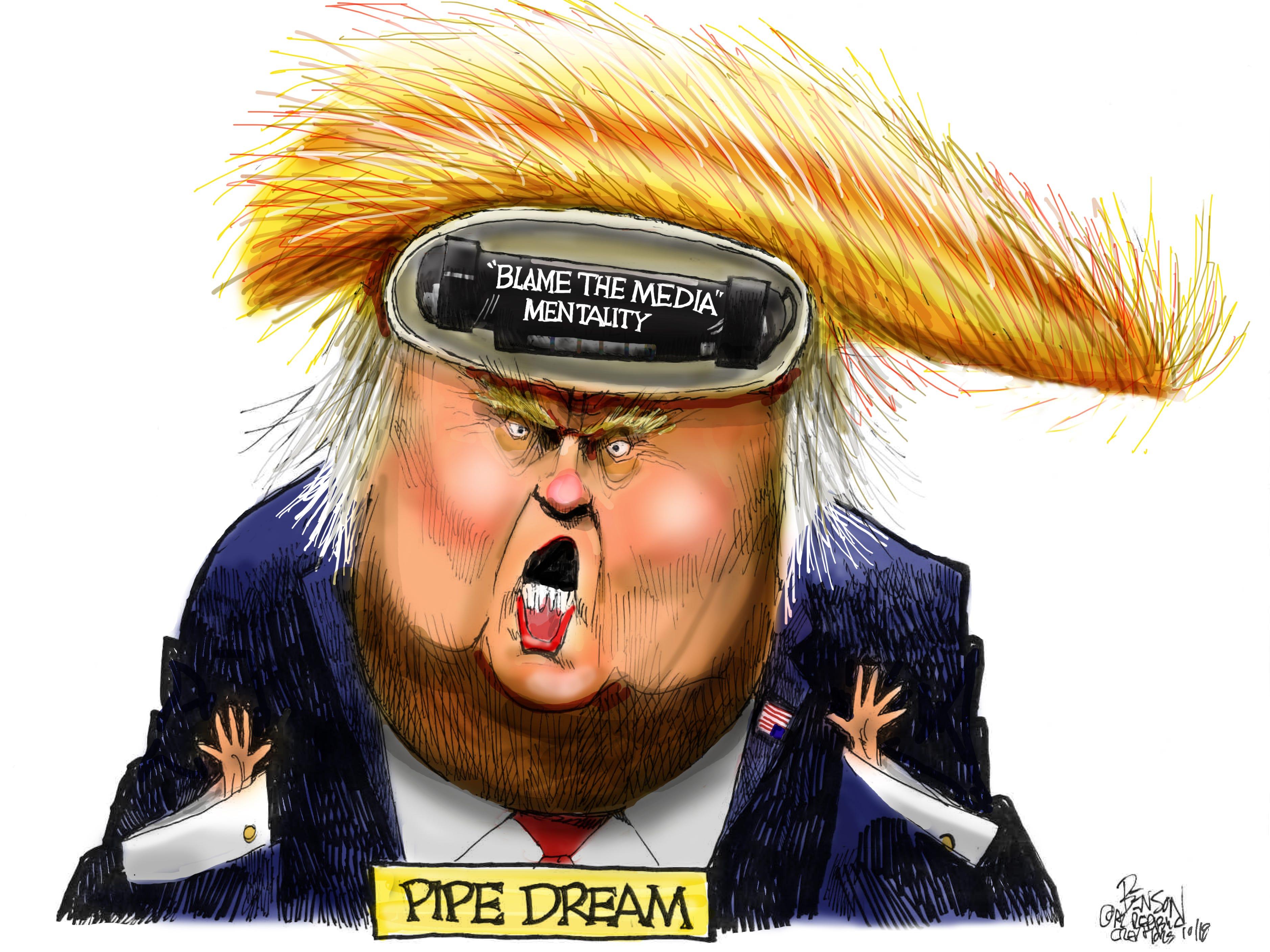 Cartoon for Oct. 26, 2018.