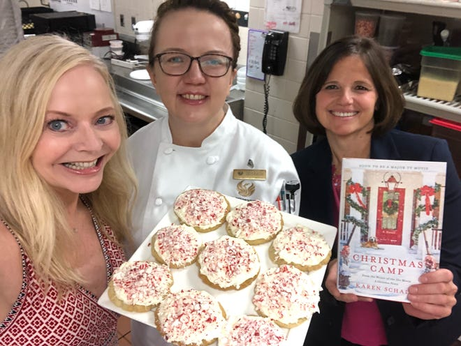 """Karen Schaler, writer of Netflix hit """"A Christmas Prince,"""" worked with the staff at the Phoenician to bring her next project, """"Christmas Camp"""" to life."""
