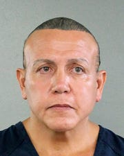 Cesar Sayoc in an undated photo released by the Broward County Sheriff's office.