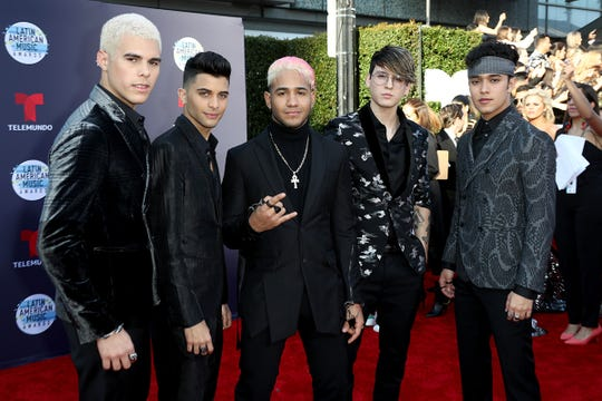 CNCO will perform at the El Paso Music Bash at the El Paso County Coliseum.