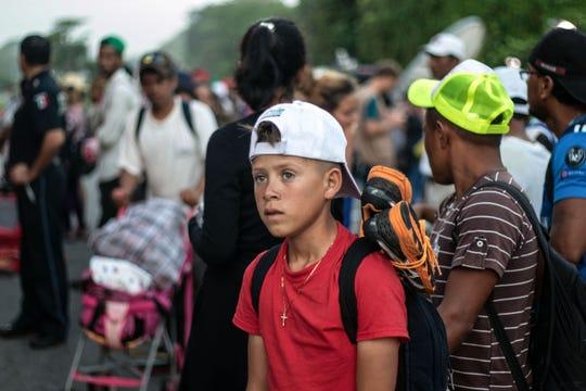 Los migrantes saben que recorrer México es el tramo más largo y peligroso al que se enfrentarán en su camino hacia EEUU.