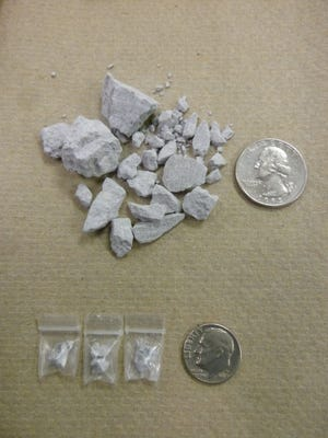 A Baldwin man was arrested as part of an investigation into crack cocaine sales.