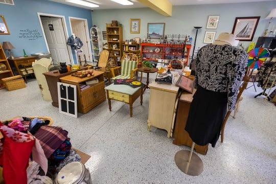 Soaring Dreams, a volunteer-run resale store, is now open at 2000 River Road in St. Clair.