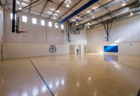 Students attending the St. Clair County jail's recovery high school will be able to participate in classes that use the jail's gymnasium.