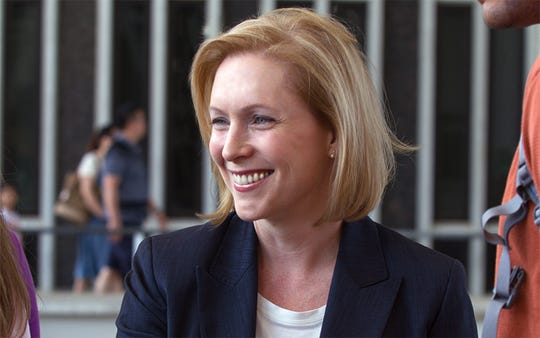 U.S. Sen. Kirsten Gillibrand of New York is among the Democrats considering a run for president in 2020.