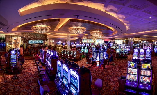 The interior of the Parx Casino in Bensalem, Bucks County.