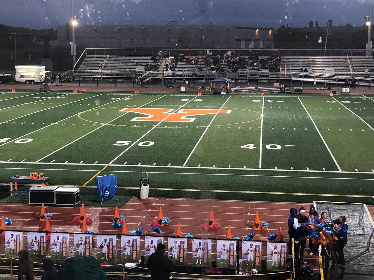 Central York and York High will have to battle each other and the rain for at least a share of the YAIAA Division I title.
