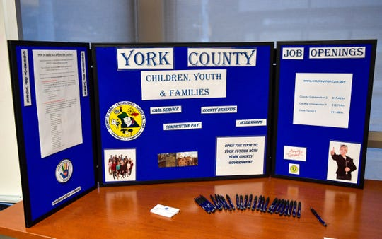 On October 25, 2018, the York County Office of Children, Youth and Families CY&F held a recruitment and informational session to hire 25 intake caseworkers.