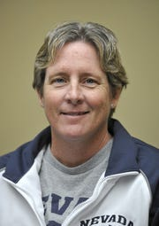 Basketball coach Karen Friel.