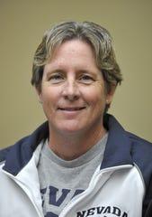 Basketball coach Karen Friel.