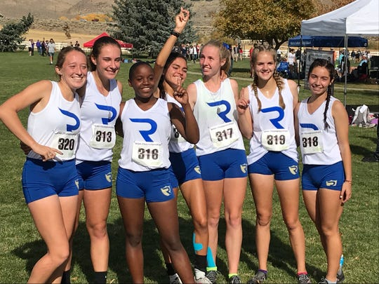T e Reed girls won the 4A team title at the cross country Regional on Friday.