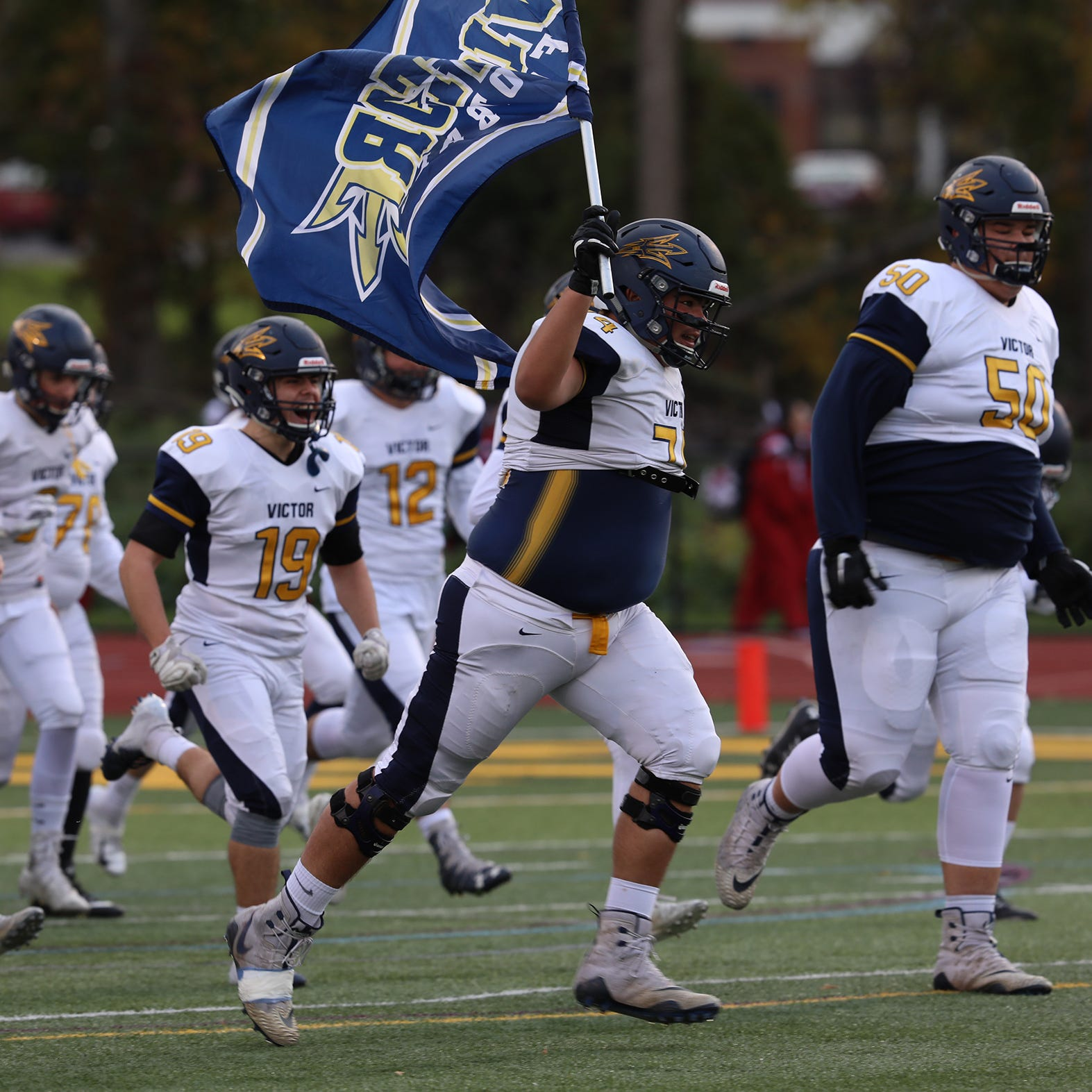 Which school has the best sports program in Section V? According to one report, Victor