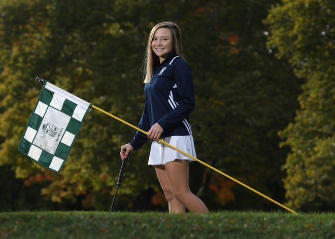 Webster Thomas senior Mikah McDonnell repeated as sectional champion and is the All-Greater Rochester Girls Golfer of the Year for the second straight season.