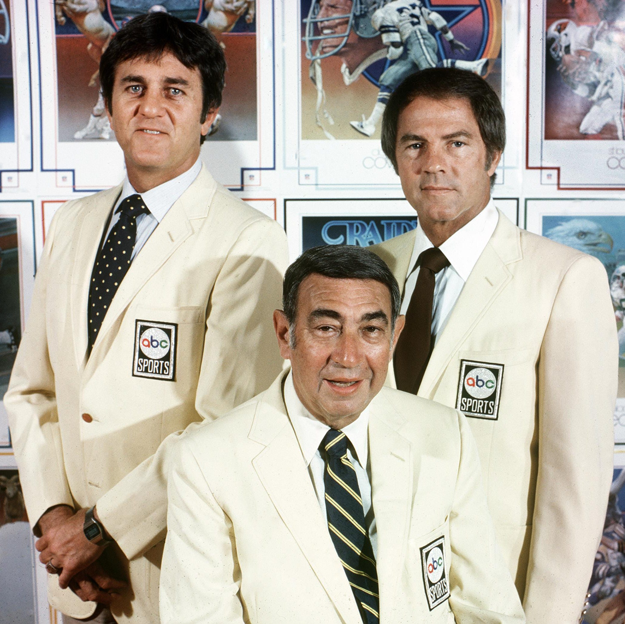The best NFL broadcast team ever? This bunch