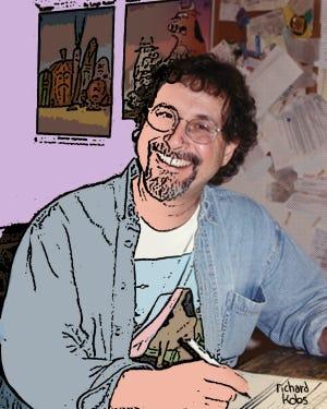 """Rubes"" cartoon creator Leigh Rubin."