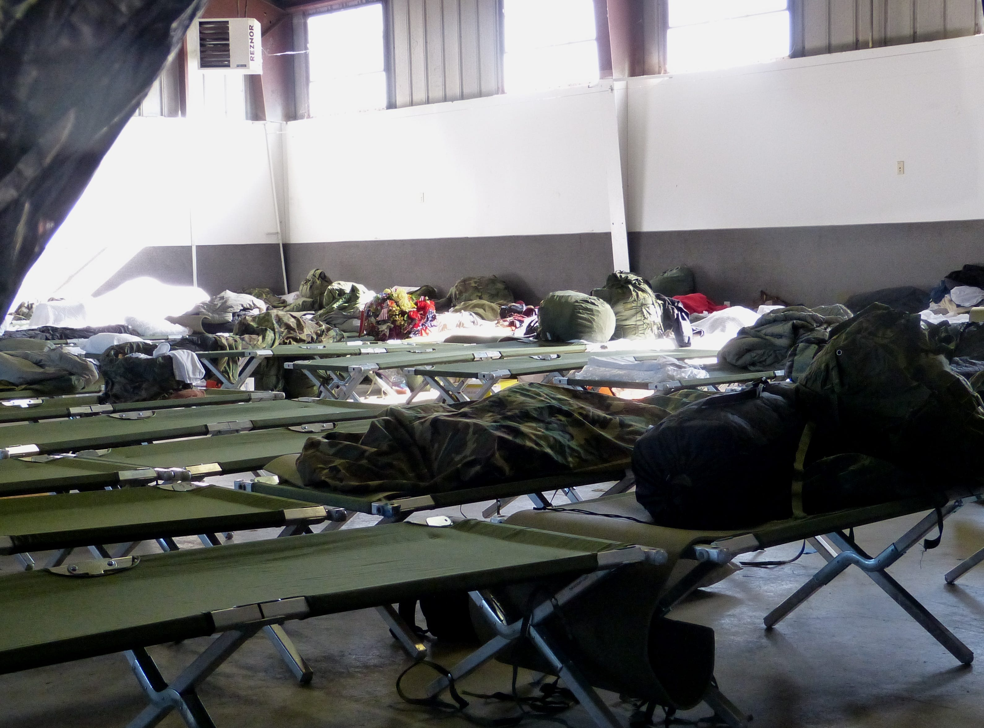 The three-day Stand Down offered free temporary shelter for homeless veterans.