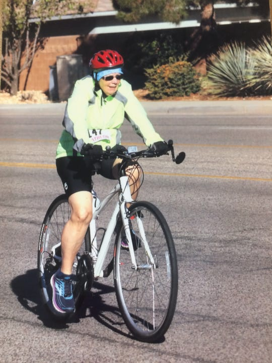 Gerrie Faessler-Gray discovered a passion for running and triathlons in her mid-60s.