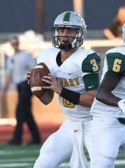 Calvary quarterback Cade Hart has thrown for more than 10,000 yards in his career with the Cavaliers.