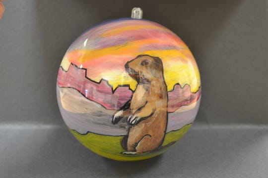 Above is an example of one of 56 ornaments to be displayed during the 2018 National Christmas Tree experience in Washington, D.C. Roosevelt High School has been selected as one of 56 schools across the U.S. to make such an ornament.