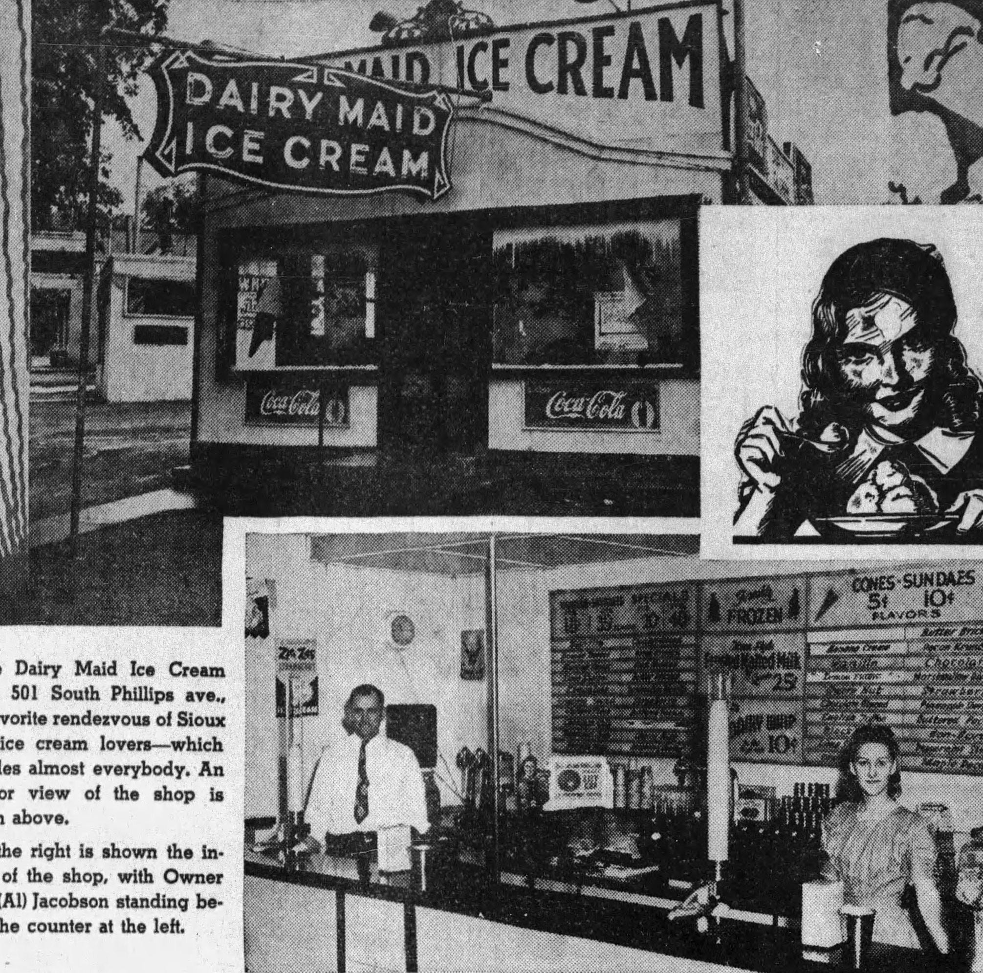 Looking Back: Beloved ice cream shop owner also wrote to dozens of WWII soldiers