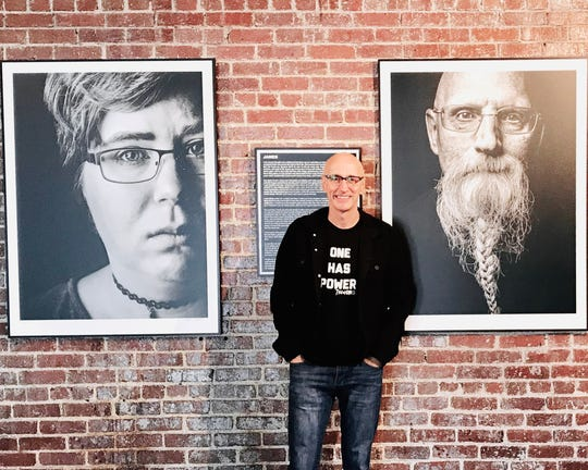 """Springfield photographer Randy Bacon's newest project focuses on suicide survivors. The """"It Knows No Face"""" exhibit of portraits and short films will premier during First Friday Art Walk on Friday at Bacon's studio, 600 W. College St."""