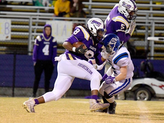 Waynesboro's Alijah Braxton, who rushed for 1,023 yards this season, was named to the second-team offense of the All-Valley District football team.