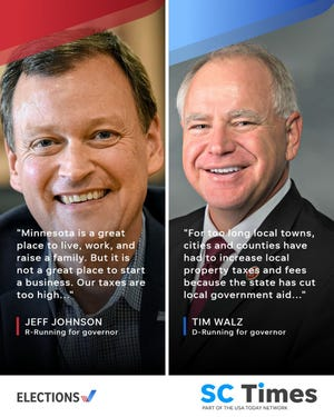 Jeff Johnson and Tim Walz have different plans to strengthen the state economy if elected Minnesota's next governor.
