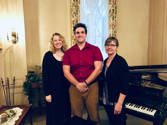 Soprano Jody Martinson, pianist Tony Kapinos and cellist Tina Lamberts will present this year's Central Minnesota Artists Musicale.