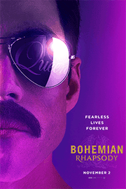 """Bohemian Rhapsody"" charts Freddy Mercury's life and times as lead singer of Queen."