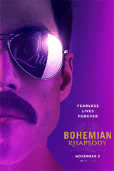 """""""Bohemian Rhapsody"""" charts Freddy Mercury's life and times as lead singer of Queen."""