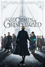 """Fantastic Beasts: The Crimes of Grindelwald"" stars Johnny Depp as a villain in the pre-Harry Potter wizarding world."
