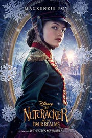 "Christmas time is here! Mackenzie Foy stars as Clara, the hero of ""The Nutcracker and the Four Realms"" on a wintery journey."