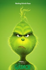 """This version of """"The Grinch"""" stars Benedict Cumberbatch as the curmudgeonly green holiday-squasher."""