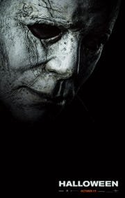 "Michael Myers is back in ""Halloween,"" 40 years after the original."