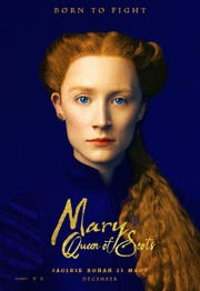 "Saoirse Ronan and Margot Robbie square off for the English throne in ""Mary Queen of Scots."""
