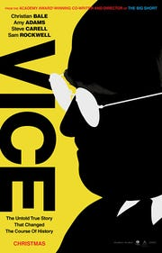 """Vice"" centers on Dick Cheney's rise to power."