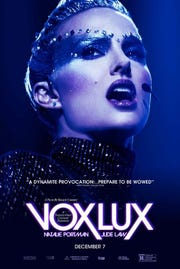 Natalie Portman stars as a glam international pop star staging a comeback.