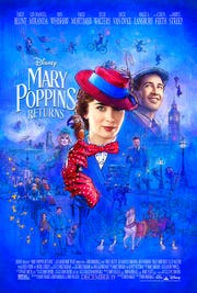 """Mary Poppins Returns"" picks up many years after the original film."